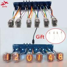 Zirrfa 6 bit Nixieröhren Glow Uhr Motherboard Core Board Control Panel universal in8 in8 2 in12 in14 in18 qs30 1, keine rohre