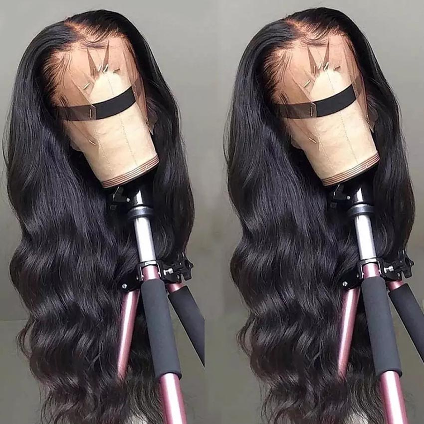13x6 Body Wave Lace Front Human Hair Wigs Pre Plucked Remy Mi Lisa Brazilian Wig Long Body Wave Human Hair 13x4 Lace Frontal Wig by Ali Express.Com