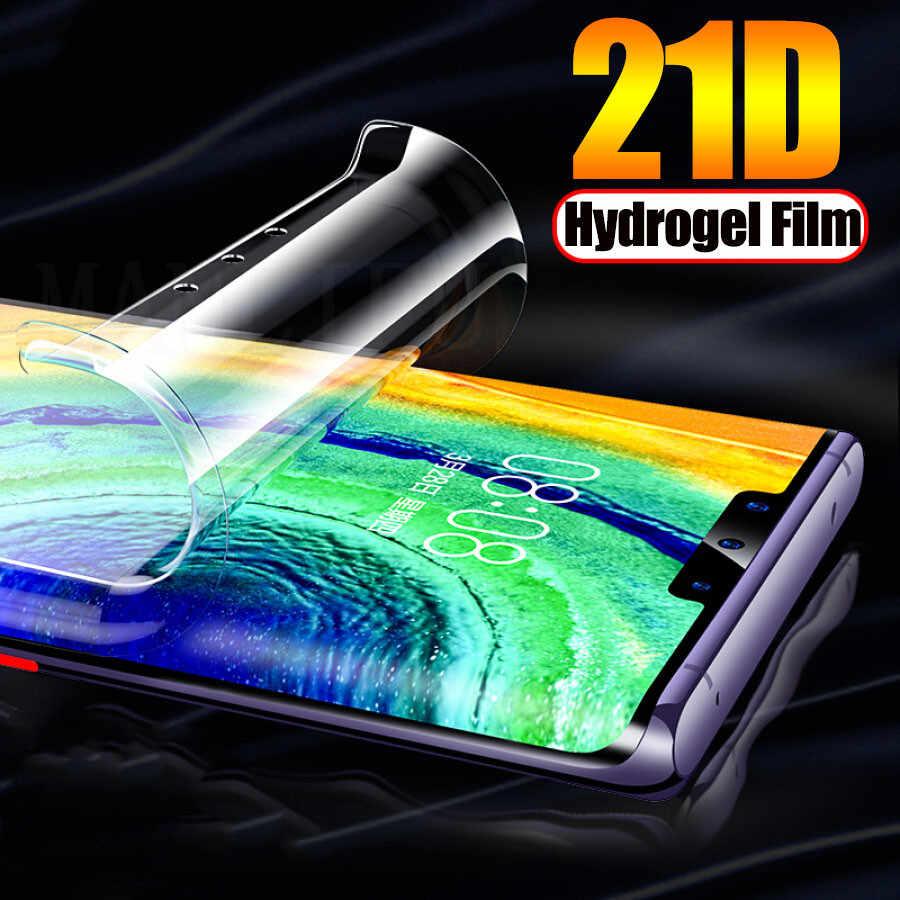 21D מלא הידרוג 'ל סרט עבור מוטורולה Moto אחד ראיית Z2 Z3 לשחק מול רך TPU מסך מגן Moto G7 G6 g5s E5 בתוספת (לא זכוכית)
