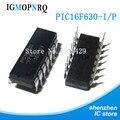 10PCS PIC16F630-I/P DIP14 PIC16F630-I PIC16F630 8 bit microcontroller -MCU 1.75KB 12 I/O Ind Temp PDIP14 RAM New