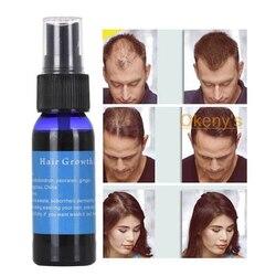 30ml rápido crescimento do cabelo spray de óleo cabelo crescer restauração impedir baldnessast crescer restauração densa produto de perda de cabelo
