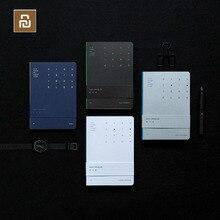 4 cores youpin noite walker série notebook para o autor brilhante prata linha de frente pode 1809 escrita plana luminosa volta
