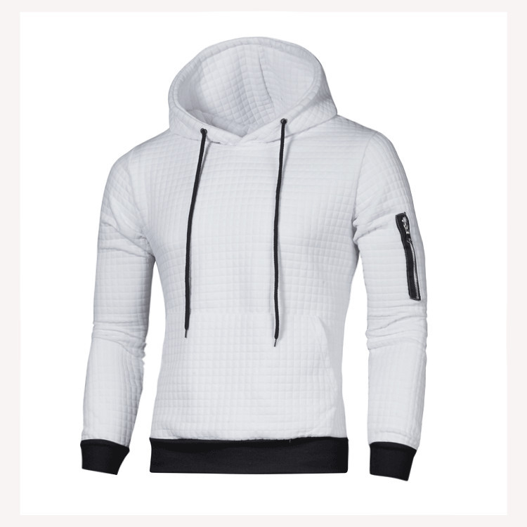 DIHOPE 2020 Sweater Men Solid Pullovers Men Casual Hooded Sweater Autumn Winter Warm Femme Men Clothes Slim Fit Jumpers