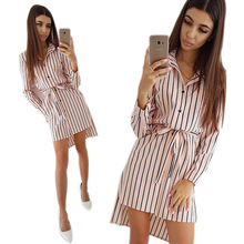 Womens Tops and Blouses Fashion Long Sleeve Woman Shirts Casual Button Up Pullover Cotton Striped Top Plus Size Tunic Blouse plus size striped button up shirt