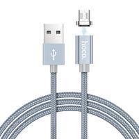 HOCO 1 м Магнитный кабель Micro usb type C для быстрой зарядки и синхронизации данных Кабель Microusb type-C Магнитный зарядный провод для телефона Xiao Android