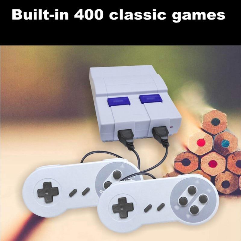 Retro super clássico jogo mini tv 8 bits família tv vídeo game built-in console jogos handheld jogador de jogos menino presente aniversário