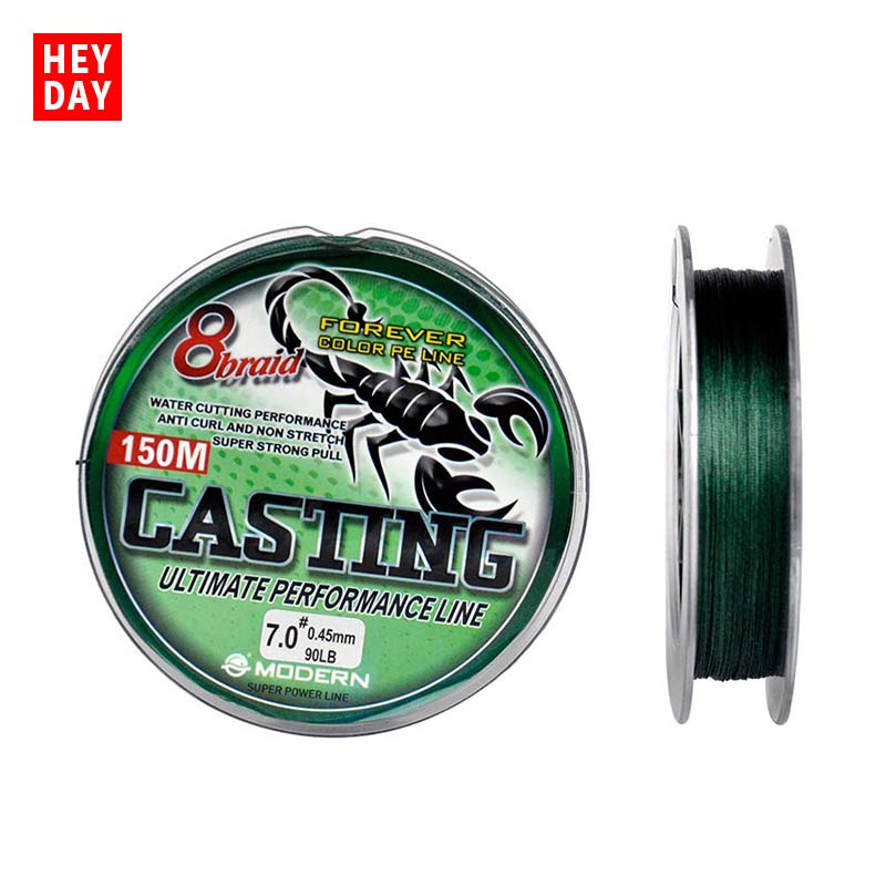 XIANDAI PE Braided 150M Fishing Line 8 Strands 20 100LB Fishi Line 1# 1.2# 1.5# 2# 2.5# 3# 3.5#4# 4.5# 5# 6# 7# 8#  Fishing Wire|Fishing Lines| |  - title=