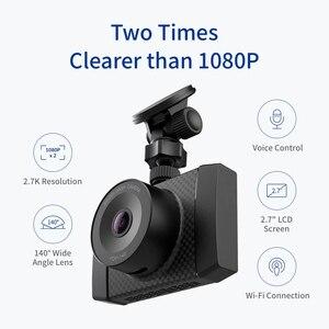 Image 2 - YI 超ダッシュカメラ 16 グラムカード 2.7 18K 解像度 A17 A7 デュアルコアチップ音声制御光センサー 2.7 インチのワイドスクリーン
