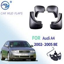 Set paraspruzzi auto sagomati per Audi A4 B6 2002 2005 8E paraspruzzi paraspruzzi paraspruzzi parafanghi parafango Styling 2004 2003