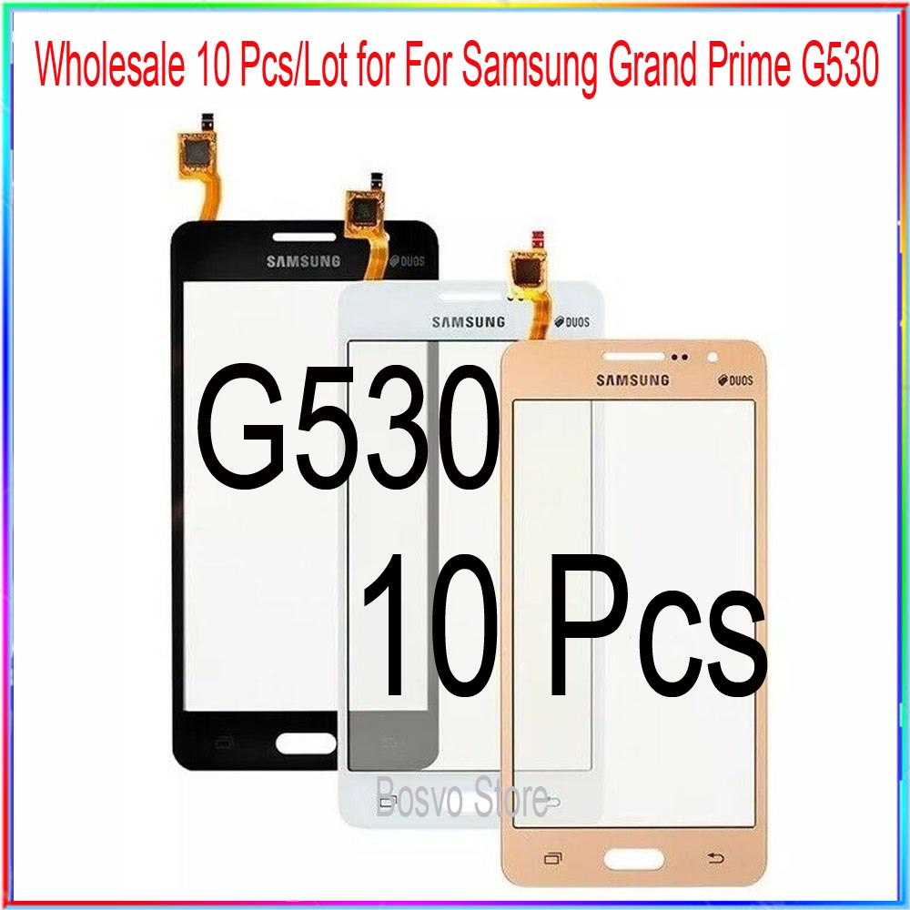wholesale 10 pcs/lot for Samsung G530 G532 touch screen digitizer glass panel(China)