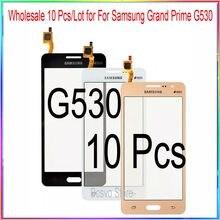 Lot de 10 écrans tactiles en verre pour Samsung, pour modèles G530, G532, vente en gros