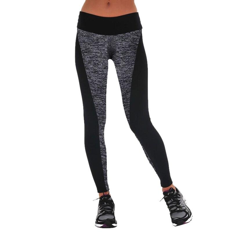 Dihope Women Leggings High Waist Elastic Active Leggins Patchwork Pants Sexy Workout Fitness Leggings Plus Size Transparent