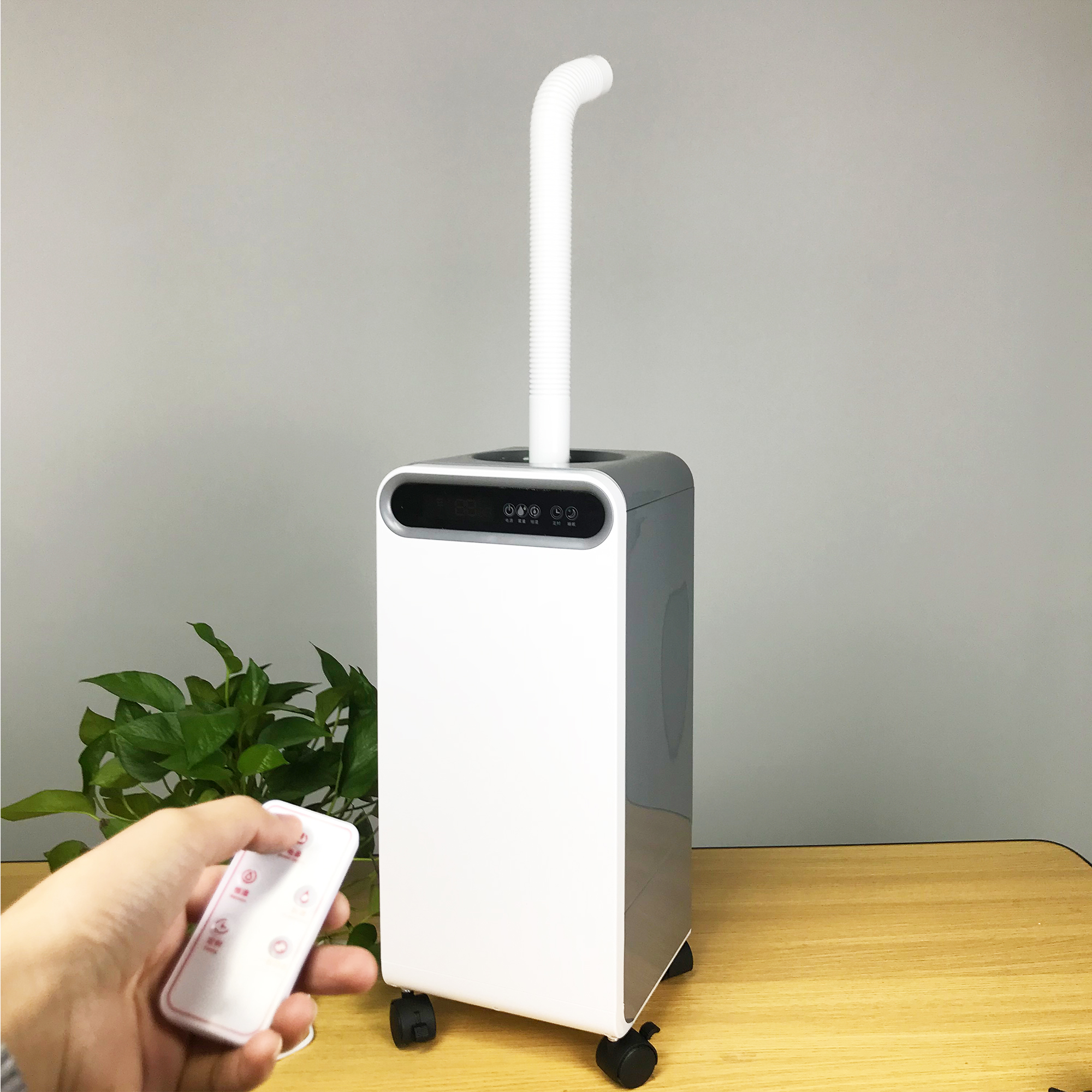 15L Air Humidifier Disinfection Remote Control Household Indoor Sterilization Machine Air Purifying Mist Maker Timing Atomizer