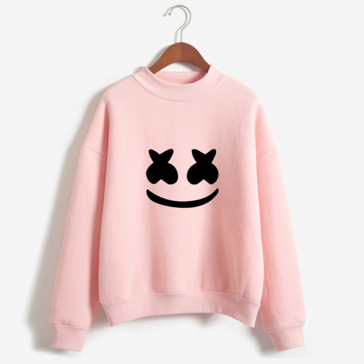 Harajuku Hip Hop Hoodie Pink Hoodie Woman Hooded Hoodies Sweatshirts Kawaii Korean Oversized Sweatshirt Women Stranger Things