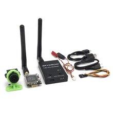 Receptor FPV UVC OTG 5,8G 150CH fácil de usar para teléfono inteligente Android y CMOS 1000TVL 2,8mm FPV Cámara 600mW transmisor de vídeo FPV
