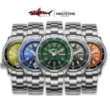 Часы heimdallr мужские с сапфировым стеклом c3 lume японские