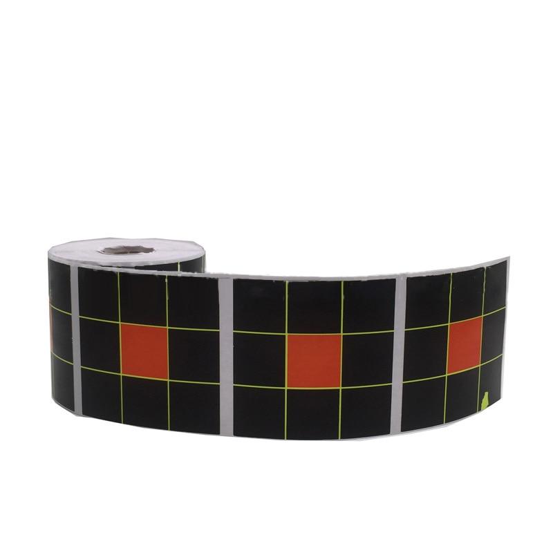 250pcs 7.5CM Nine Square Grid Splash Firing Practice Target Paper Sticker Shooting Target Accessories Adhesive