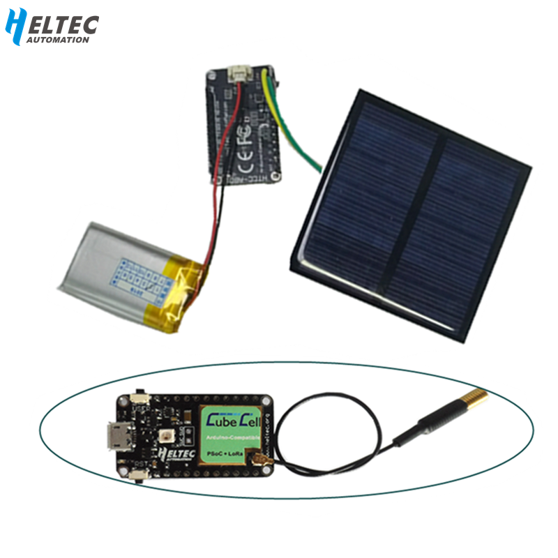 Heltec Lora Node ASR650x CubeCell Development Board For Arduino With Solar Panel