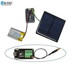 Heltec lora nó asr650x cubedell placa de desenvolvimento para arduino com painel solar