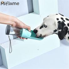 Miflame портативная емкость для воды домашних животных аксессуары