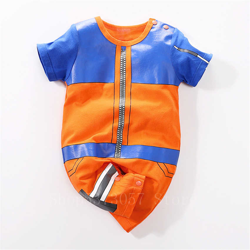 יילוד תינוק חמוד קוספליי תלבושות אנימה נארוטו חורף מקורה פעוט תינוק הדפסת Akatsuki קאקאשי פיג 'מה סרבל