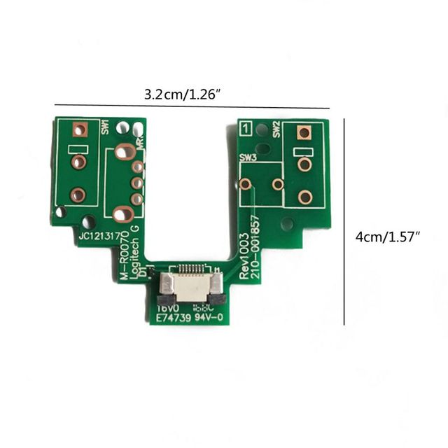 Mouse Upper Motherboard Micro Switch Button Board for logitech  G Pro Wireless Q81E 3