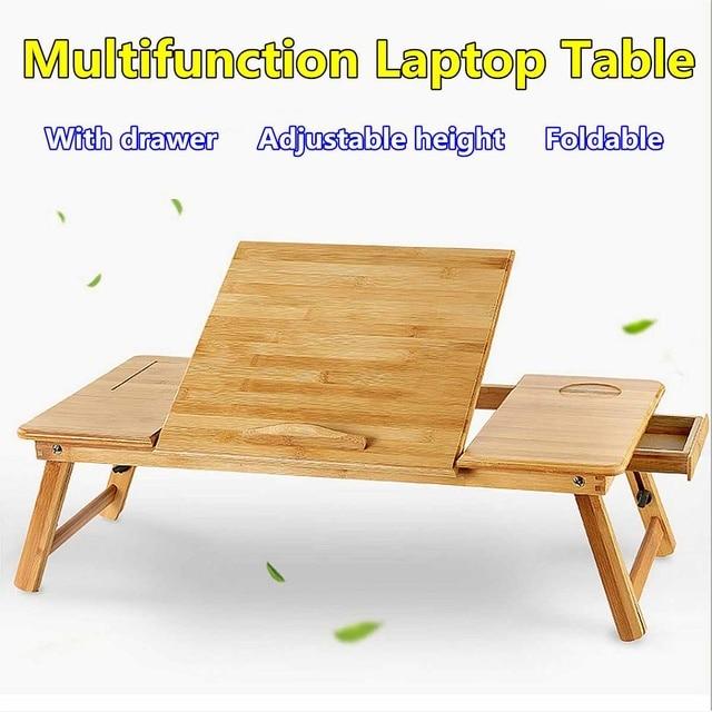 Portable Folding Bamboo Laptop Table 6