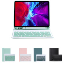 Remova  Wireless blebluetooth Keyboard Coque for ipad pro 10.2 inch tablet ew ipad 10.2 inch 2020  candy color with pen slot