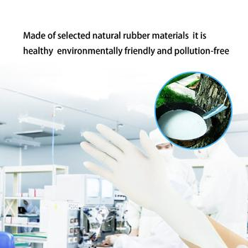 10 pairs Disposable Surgical Latex Glove Non-toxic Anti-piercing Ultra-thin Gloves Outdoor Rescue First Aid Doctor Clinic Tools 4