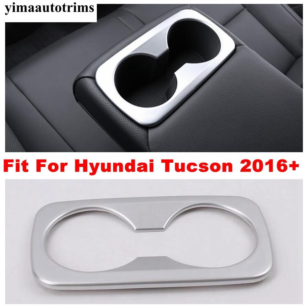 Матовые аксессуары подходят для hyundai tucson 2016  2020 рамка