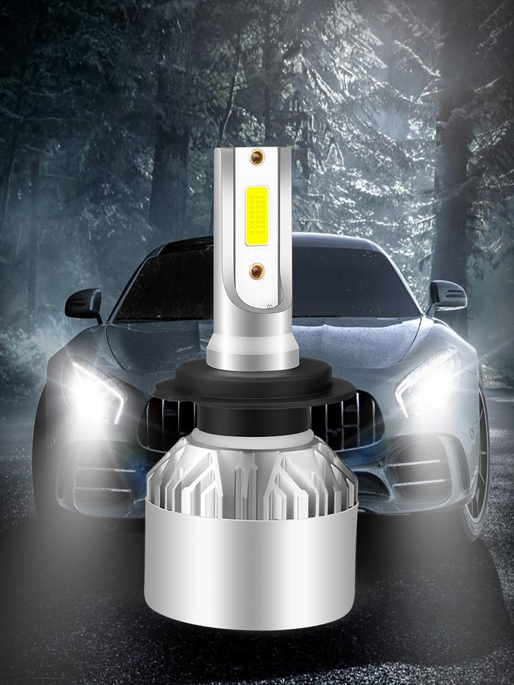 Hlxg Car-Headlight-Bulbs Car-Accessories Fog-Light 8000K Auto H11 9005 Hb3 6500K 4300K