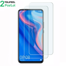 2Pcs Tempered Glass For Huawei P Smart Z Screen Protector 9H 2.5D Phone
