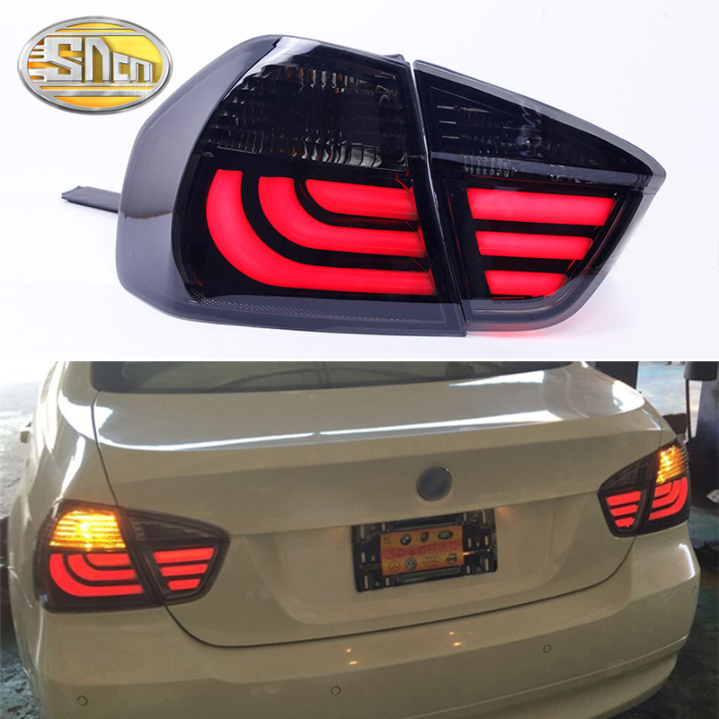 4Pcs For BMW E90 taillight assembly 2005-2008 E90 rear lights dedicated car light led taillight light image