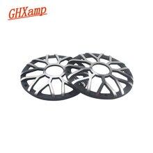 """GHXAMP 3 インチ 92 ミリメートルカーセンタースピーカーグリルメッシュのための 3 """"3.5"""" インチ車ミッドレンジスピーカーカバーアルミ装飾ネット 1 ペア"""