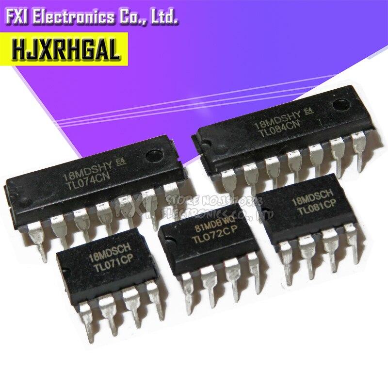 10PCS TL071CP TL072CP TL074CN TL081CP TL084CN Operational Amplifier New And Original IC