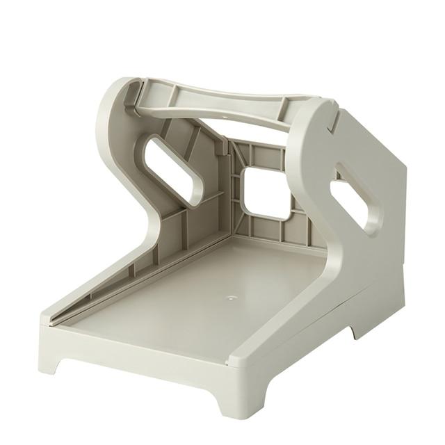 2-IN-1 Thermal Printer Label Box Electronic Printing Paper Universal External Bracket Storage Rack Label Holder
