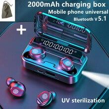 Беспроводные наушники TWS Bluetooth наушники 5,1 наушники Lotus мини-гарнитура игровые наушники-вкладыши чехол с микрофоном наушники
