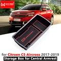 Подлокотник  ящик для хранения для Citroen C5 Aircross 2017 2018 2019 2020  органайзер для укладки автомобиля  внутренние аксессуары  C5-Aircross