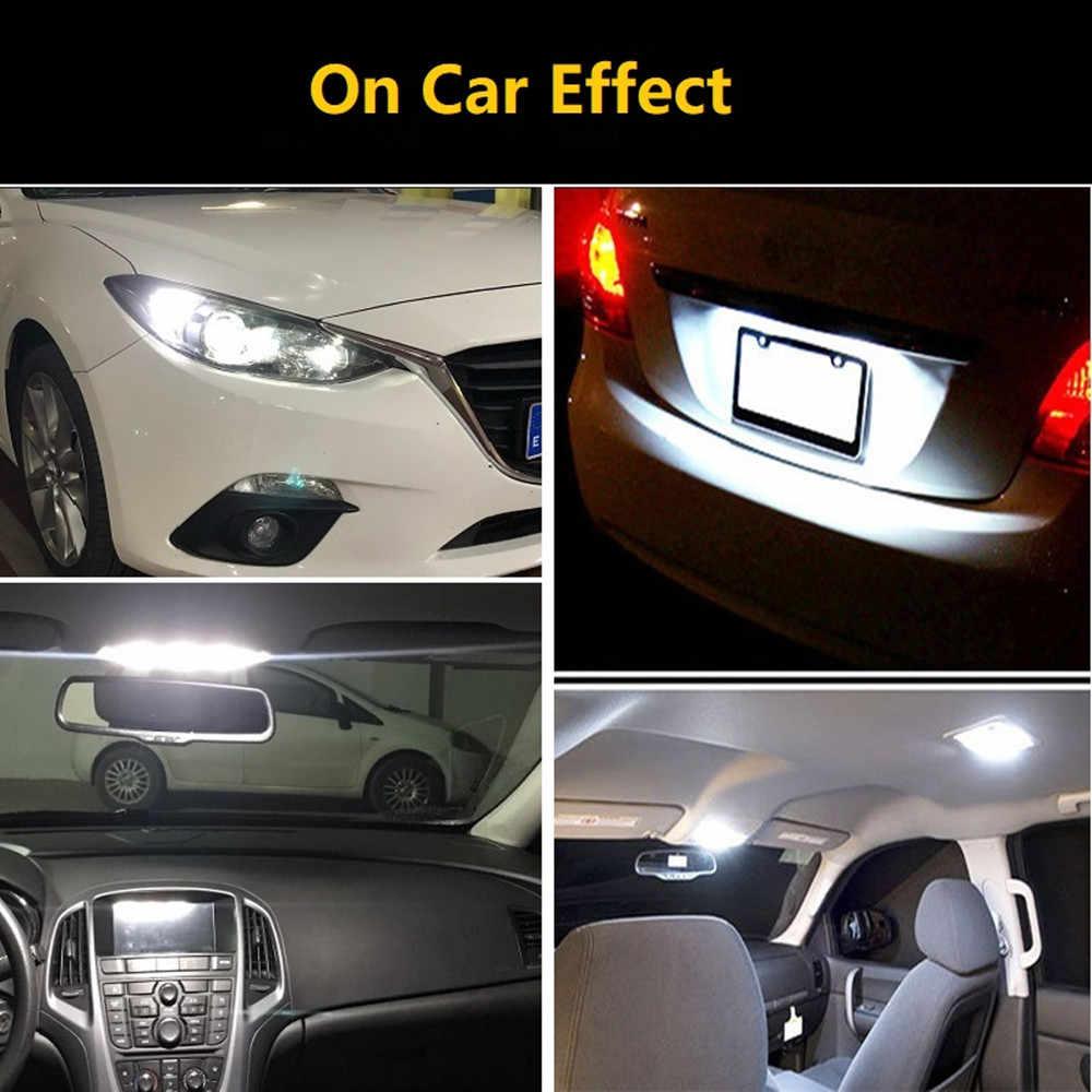 10X LED W5W Canbus T10 12V beyaz araba iç ışık park lamba ampulü Hyundai Tucson için Creta Kona IX35 Solaris accent I30 IX25