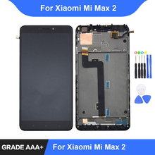 For Xiaomi Mi Max 2 LCD Display Touch Screen Digitizer Assembly Repair Parts for Xiaomi Mi Max2 Display with Frame Replacement lcd display screen and touch digitize assembly for xiaomi mi max white color with assuring