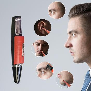 Elektryczne ucho nos szyi trymer do brwi wdrożenie golarka do usuwania włosów Clipper dla mężczyzny i kobiety osobiste przyrządy do pielęgnacji twarzy tanie i dobre opinie CN (pochodzenie)