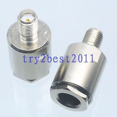 DHL/EMS 50 Sets 1pce Connector SMA Jack Pin Clamp RG8X RG-8X RG59 LMR240 RG6 Cable Straight -C1