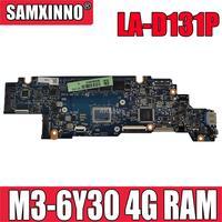 LA-D131P placa-mãe do portátil para For Lenovo yoga 700-11isk original mainboard 4g-ram M3-6Y30