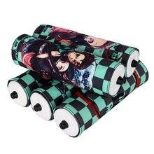 10 pçs/lote Anime Demônio Assassino: Kimetsu não Yaiba Figuras Cosplay Cilindro Caixa de Lápis Da Lona Coin Bolsas Presentes das Crianças Brinquedos