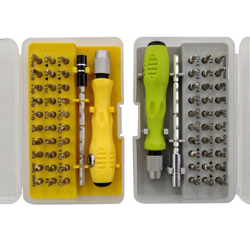 32-в-1 многофункциональный набор высокоточных отвёрток мобильный телефон цифровой Камера Plug бритвы демонтажа инструмент для ремонта насадо...