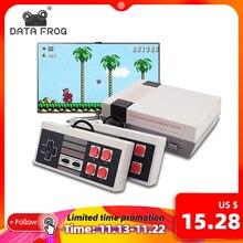 DATEN FROSCH TV Video Spiel Konsole Gebaut In 620 Spiele 8 Bit Retro Spielkonsole Handheld Gaming Player Beste geschenk freies verschiffen