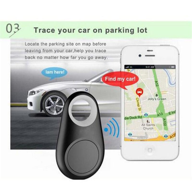 2020 Mini GPS Tracking Finder Device Auto Car Pets Kids Motorcycle Locator Anti-lost GPS Tracker Bluetooth 4.0 for Kids Pet Bag image