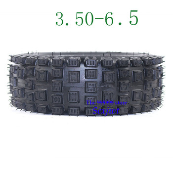 3.50-6.5 Tubeless Style Tire 3.50-6.5 thickening vacuum tyre For Rotary Cultivator ATV Quad Lawn Mower Garden Tractor