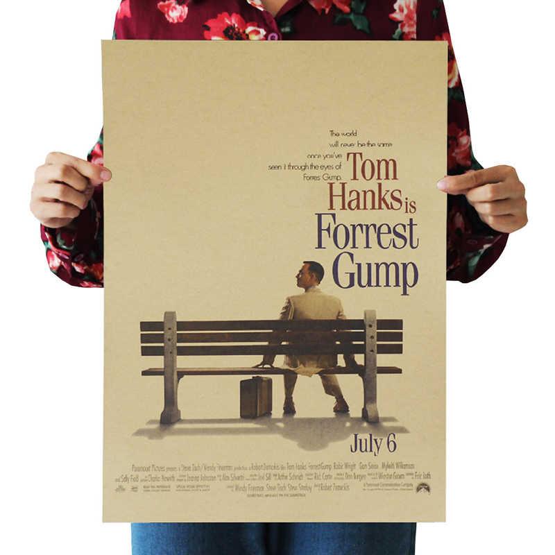 DLKKLB Phim Retro Poster Bộ Sưu Tập Tô Điểm Vintage Trang Trí Tranh Áp Phích Phòng Khách Core Kraft Giấy Dán Tường