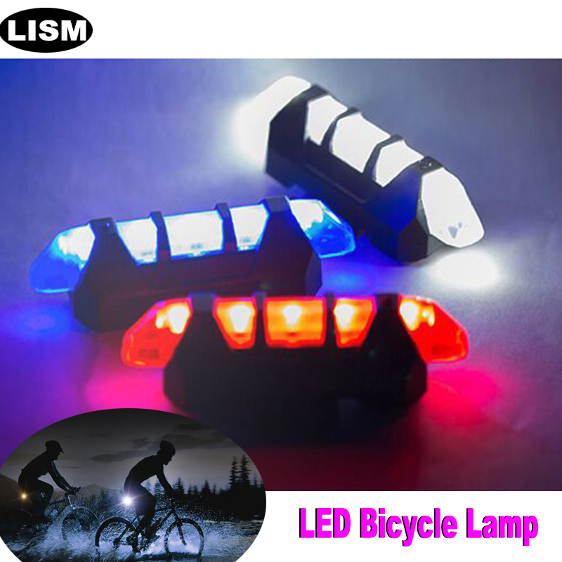 Bicycle Light LED USB Rechargeable Rear Tail Flash Light Waterproof Night Riding Safety Warning Lamp Bike Cycling Accessories